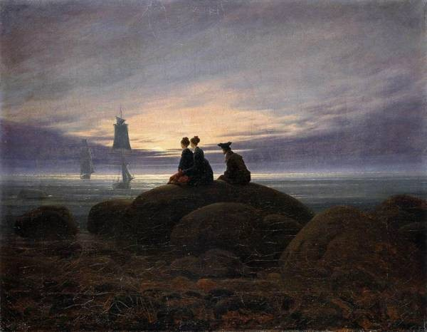 Moonrise By The Sea 1822
